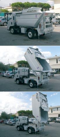 Vozidlo GN Satellite s nástavbou Micro