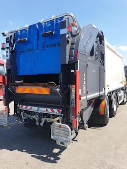 GEESINK GPM IV 21H25 GCB split lift na podvozku VOLVO